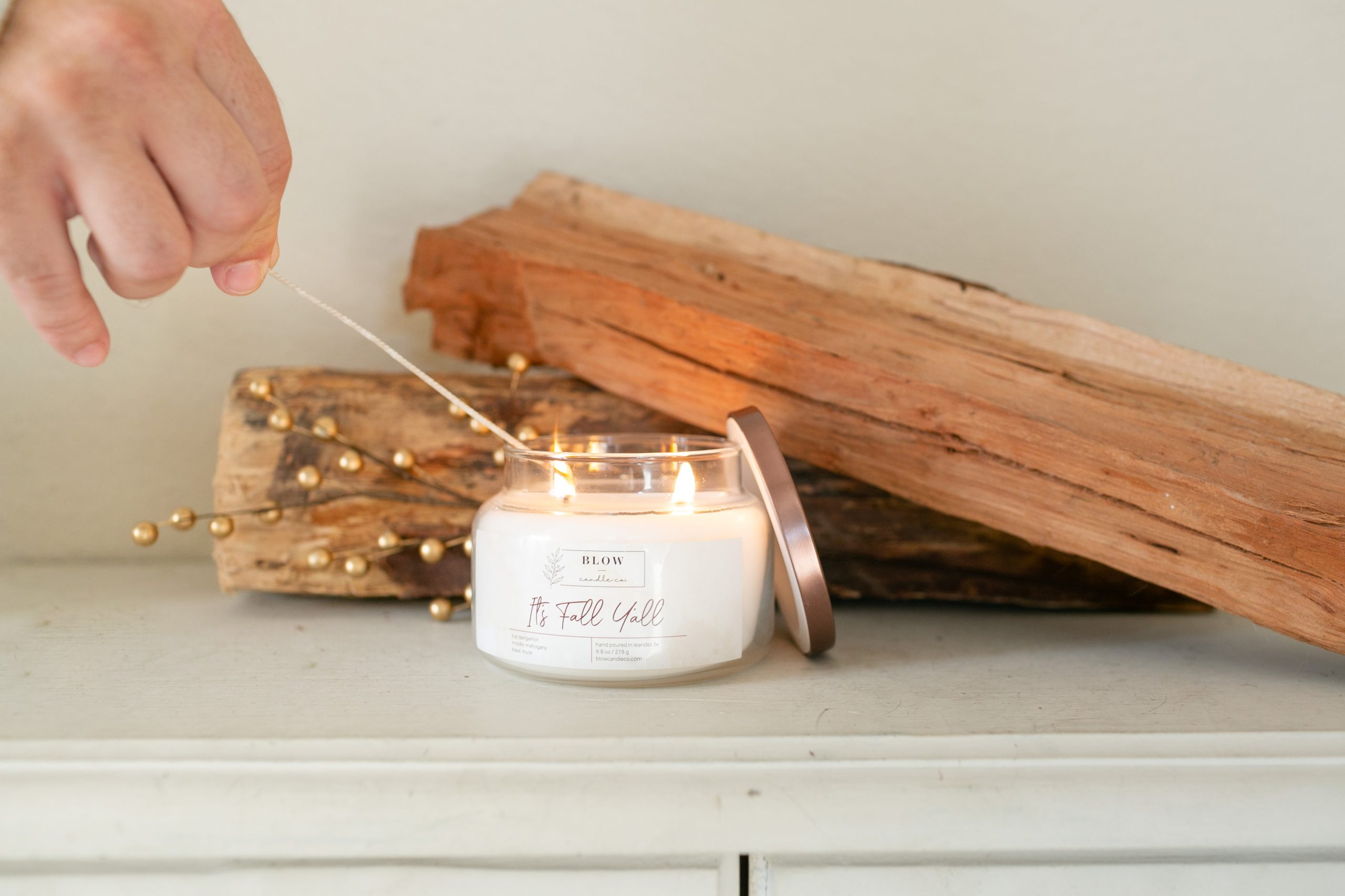 Blow Candle Co product image by Paty Araujo Photography